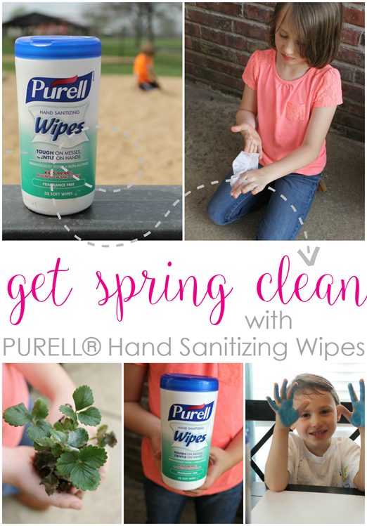 Get Spring Clean with PURELL® Hand Sanitizing Wipes #PurellWipes #ad