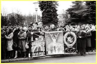 Protestas durante la Revolución Cantada