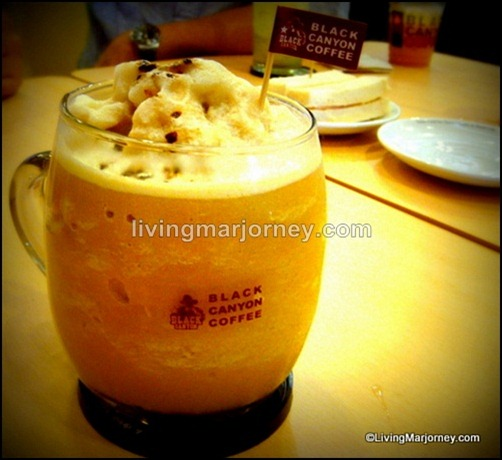 Black Canyon Coffee Frappe