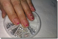 nail art with stones 7