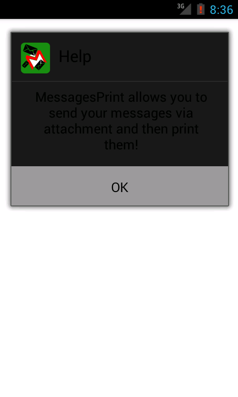 Messages Print - SMS Print txt - screenshot