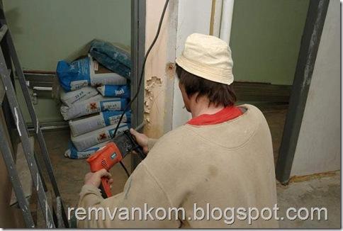 комплексной ремонт ванной комнаты 4