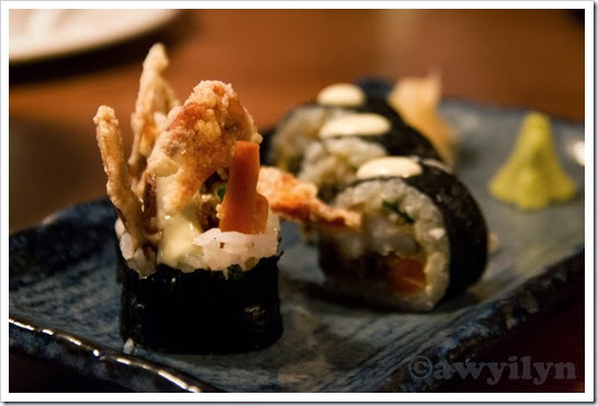 Soft Shell Crab Roll (2)