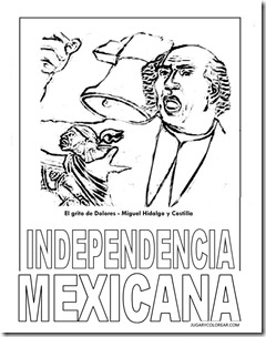 Dibujos Para Colorear 16 Septiembre Mexico