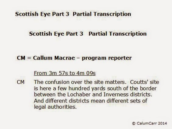 Scottish Eye 3 Partial Transcription 3A