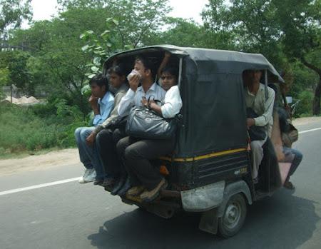 Transport Delhi: Un alt fel de RATB