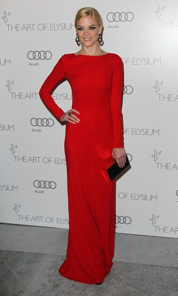 Jaime King attends the Art of Elysium