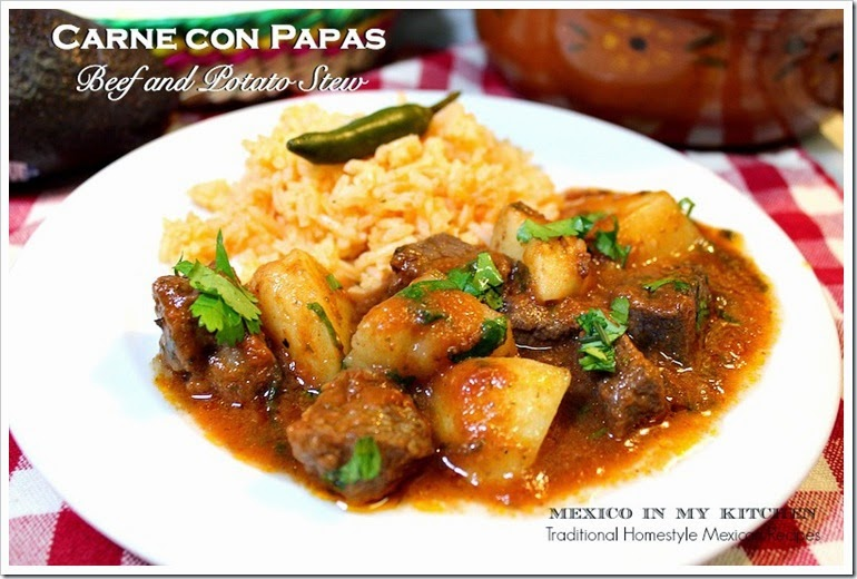 Beef and Potato Stew | Carne con Papas