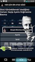Screenshot of Her Gün Bir Atsız Sözü