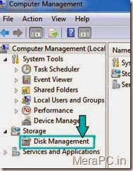 opening disk management