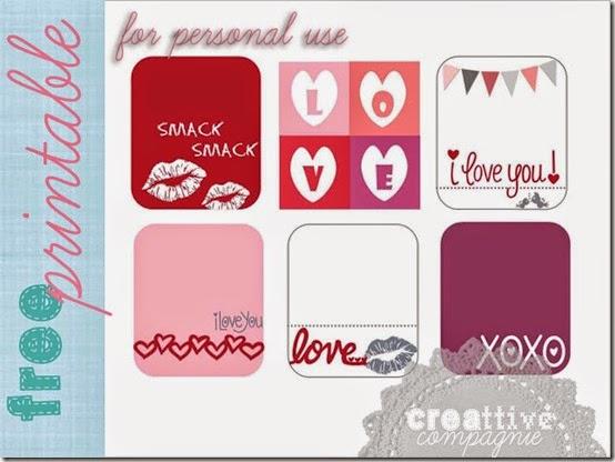 creattive compagnie - biglietti - etichette san valentino - gratis