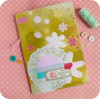23-cafe-creativo - big shot- scrapbooking - mini album foto - journal