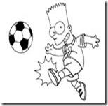 desen-de-colorat-simpson-fotbal