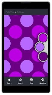 Polka Dots Live Wallpaper - screenshot