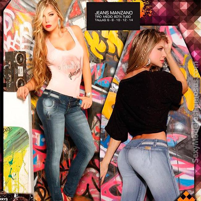 Angelica Jaramillo y Sofia Jaramillo Axxys Jeans Foto 16