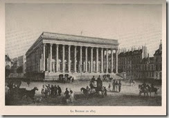La Bourse de Paris en 1827