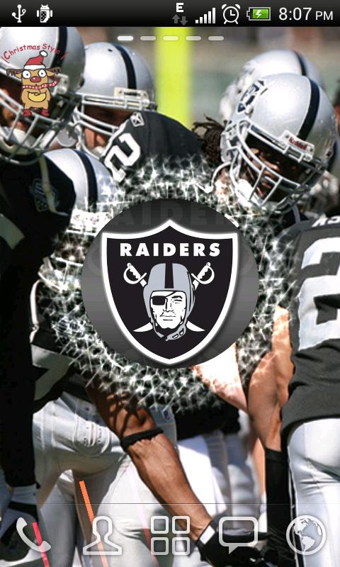Oakland Raiders Live Wallpaper APK
