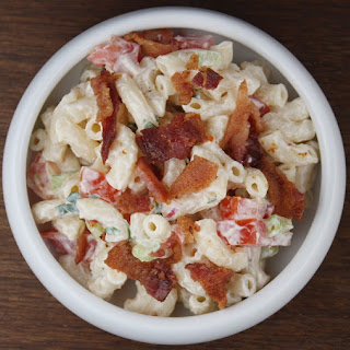 Bacon & Tomato Macaroni Salad.