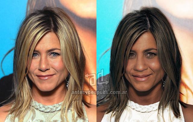 El lado oscuro de Jennifer Aniston - www.antesydespues.com.ar