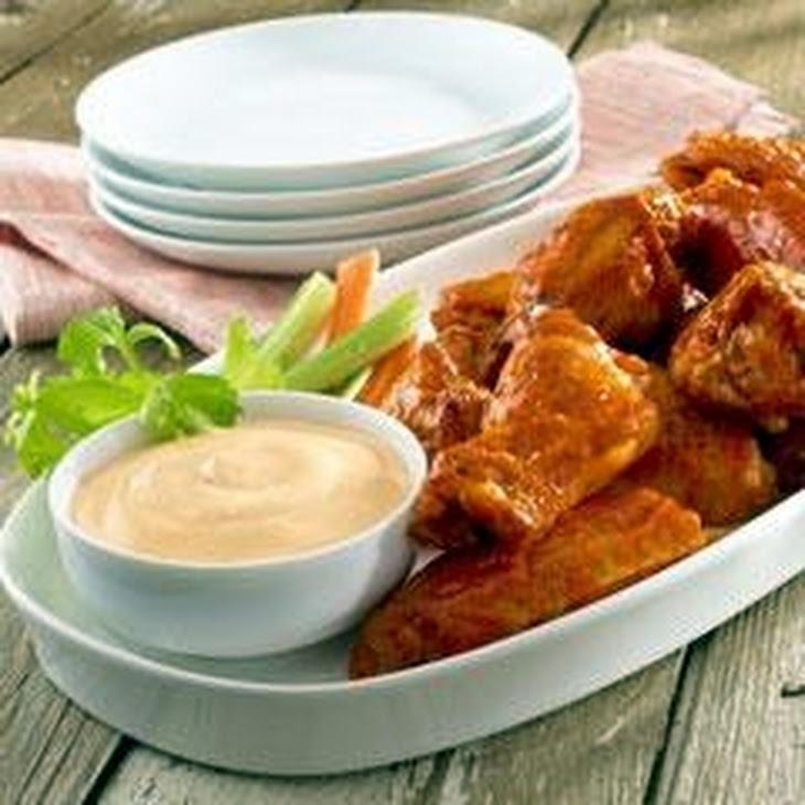 Snappy Chicken Wings Recipe