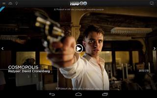 Screenshot of HBO GO Poland