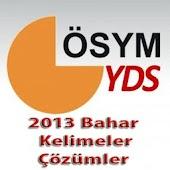 YDS 2013 Bahar Çözüm+Kelimeler