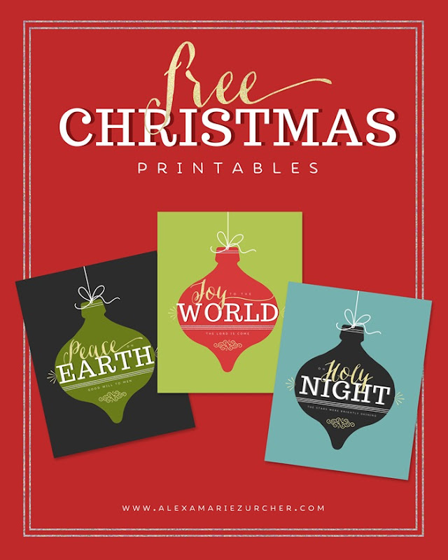 Free christmas printables, free holiday prints