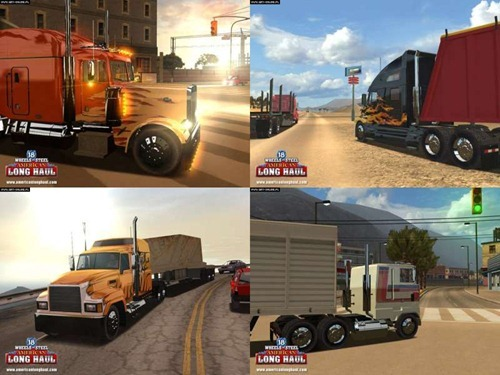 Juego de Camiones 18 Wheels of Steel American Long Haul