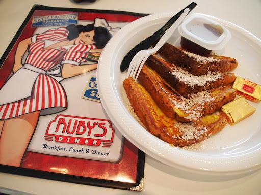 [写真]RUBY'S DINERでフレンチトースト