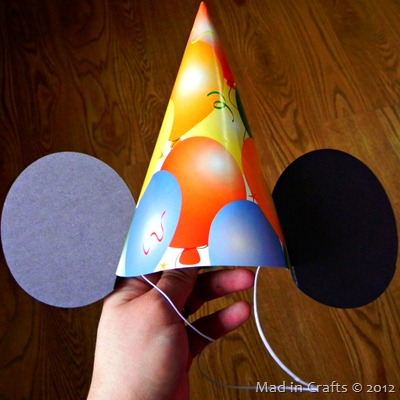 mickey mouse birthday hat mod