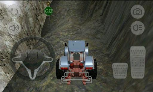 拖拉機爬坡賽車3D