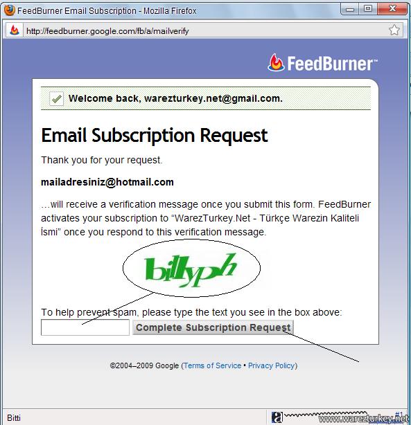 Mail Adresiniz İle Sitemizdeki Son Konuları Takip Edin...