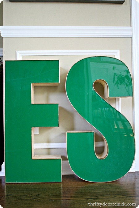 big marquee letters