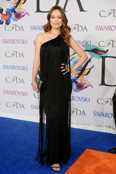Olivia Wilde Arrivals CFDA Fashion Awards