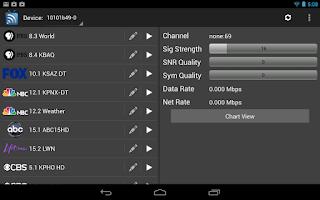 Screenshot of HomeRunTV