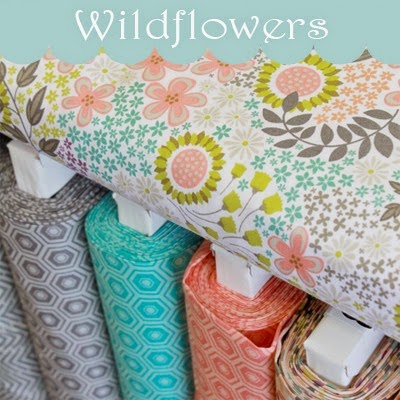 Wildflowers fabric from Camelot fb