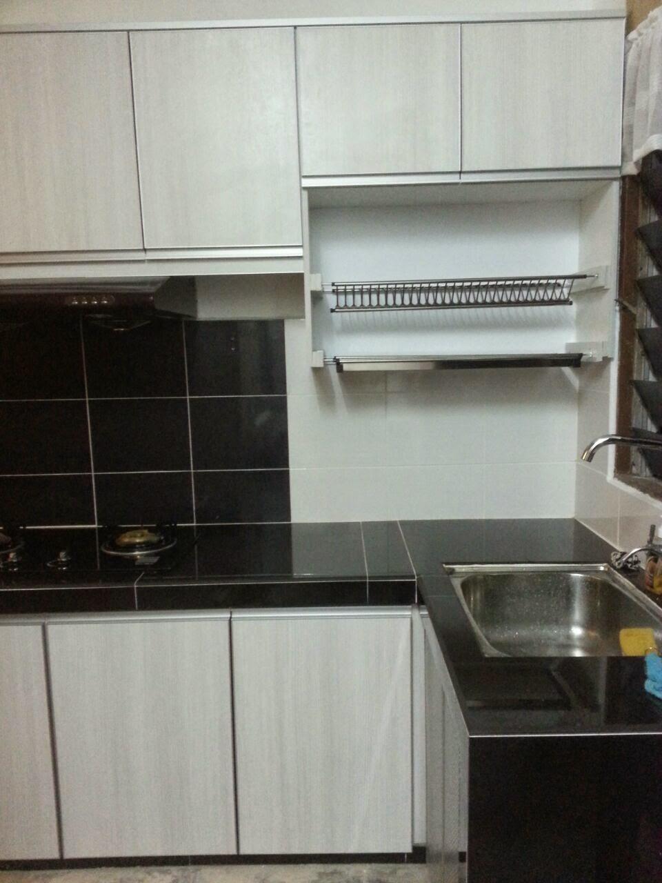 Rak  Pinggan Kabinet  Dapur  Desainrumahid com