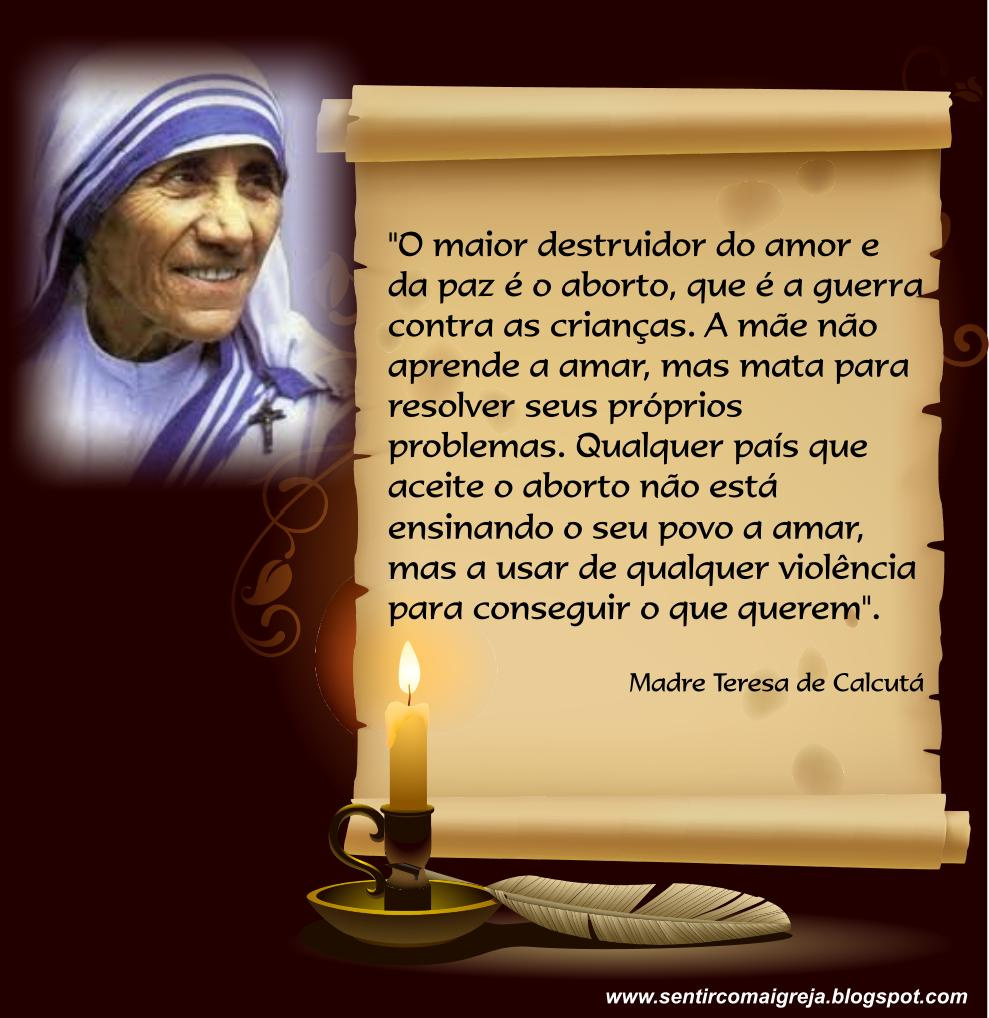 Frase Madre Teresa Quotes Links