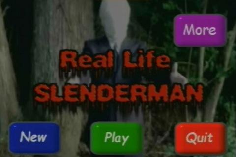 REAL LIFE SLENDERMAN