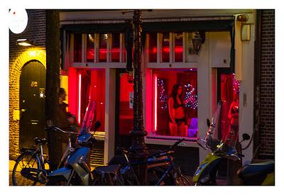 Das Vergnügungsvirtel in Amsterdam