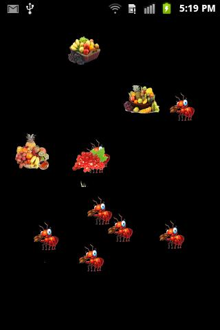 Ants Smasher Get Fruits