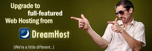 DreamHost Apps, servidor CMS grátis.