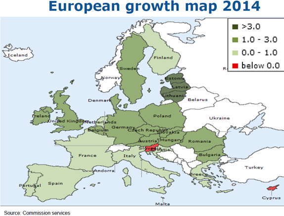 EC European Growth Map
