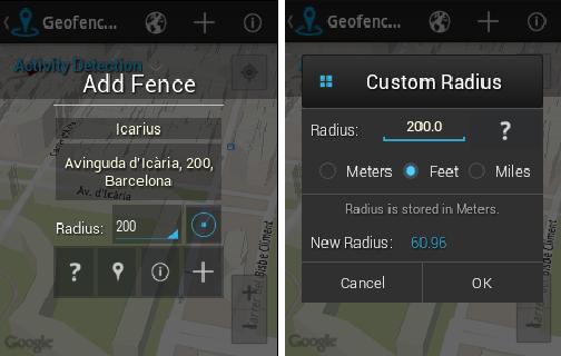 Geofencer- screenshot