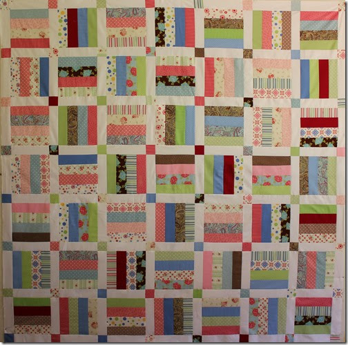 On A Roll Jelly Roll Quilt