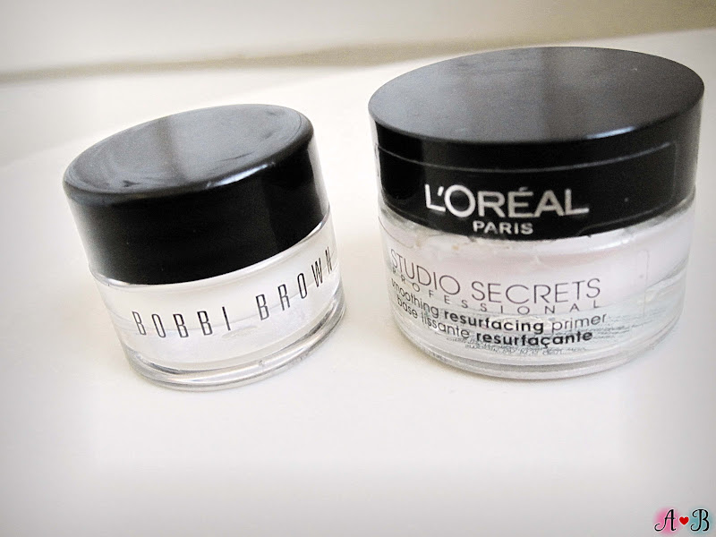 Bobbi Brown Vitamin Enriched Face Base Vs Loreal Studio Secrets Smoothing Resurfacing Primer