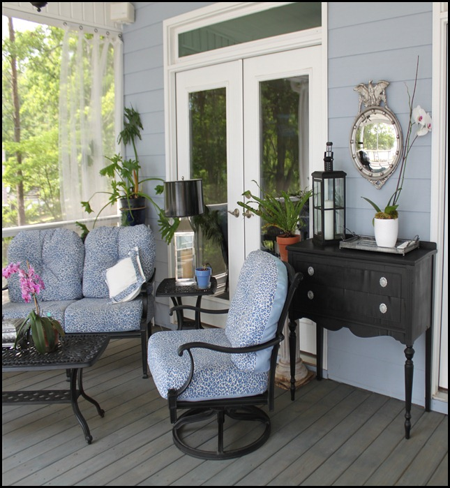 screened porch furniture