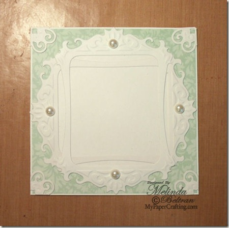 die cut card background-500