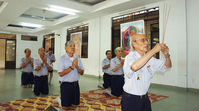 DSC06249 Lễ Hiệp kỵ   Lễ Huý Nhật Cư sĩ Sáng lập viên GĐPT Việt Nam   Tâm Minh Lê Đình Thám