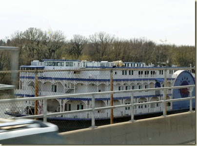 Mississippi Side Riverboat